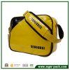 耐久の防水黄色PVC単一の肩の余暇袋