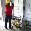 Heet verkoop de AutoMachine /Gypsum van het Pleister van het Cement van de Muur teruggeven Machine in Beste Prijs