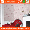 Nettes Big Flower Wallpaper für Fashion Home
