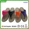 숙녀 Chinese Customize PVC Injection Chappal 슬리퍼 샌들 (RW28275B)