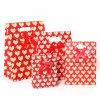 Dei-Отрежьте мешок подарка бумаги печатание ручки с тесемкой