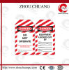 Zc-T04 Normal Lockout Tag per Safety