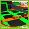 Parque combinado interno do Trampoline da qualidade superior com corte de Dodgeball
