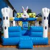 Castelo de salto inflável da casa do salto do coelho