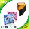 Contenitore di regalo di carta pieghevole della fabbrica su ordinazione di stampa del panno/giocattolo/estetica/imballaggio della cucina