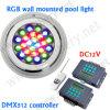DMX512 Control de iluminación digital Iluminación de piscinas para piscinas, Pool Builder