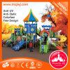 Glissière extérieure de cour de jeu d'enfants de parc d'attractions
