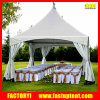 5m Aluminium-Rahmen-Pagode Carpas Zelt für im Freienlebesmittelanschaffung