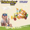 Het aantrekkelijke Speelgoed van de Bouwsteen van de Intelligentie Onderwijs Plastic