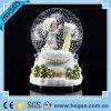 Globo 2015 del agua de la resina del regalo de la decoración de la Navidad