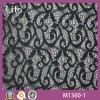 Form Black Patternlace Fabric für Sexy Dress