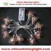 誕生会の庭の休日の装飾LEDライト
