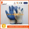 Латекса раковины T/C бежа Ddsafety 2017 перчатка безопасности хозяйственного голубого ровная законченный работая