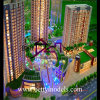 Архитектурноакустическая масштабная модель башни с деловым центром (BM-0080)