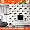 Diseño blanco y negro del papel de empapelar (D681-7)