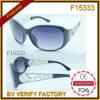 Unsex les lunettes de soleil de bâti d'individualité avec l'aperçu gratuit (F15333)
