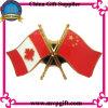 Bandera de la insignia de la bandera del Pin de metal (M-B010)