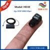 Mini câmera de Digitas HD 1080P, o tamanho o menor, somente 2g peso, H. 264 Output, Li-Bateria 5200mAh