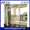 Diseño de cristal de aluminio del grueso 1.2-2.5m m de la puerta, precio de cristal de la puerta del surtidor de China