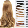 8A Natural Baby Hair Peruvian Hair Loose Curl Hair Wig