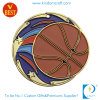 Изготовленный на заказ мягкие медали баскетбола металла эмали