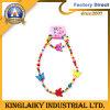 Le collier des enfants en bois réglés de programme de cadeaux de bijoux promotionnels de mode