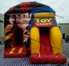 Preiswertes kundenspezifisches Cowboy-Spielzeug-aufblasbares Prahler-Schloss-Plättchen