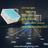 Luz 200*200*55m m del azulejo de piso del LED