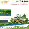 Sicherheits-Spielplatz scherzt Plastikspielzeug-Kind-im Freienspielplatz-Gerät