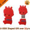 Personifizierter Geschenk-Entwurf Redkids USB-greller Stock (YT-6433)