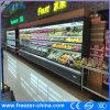 チーズまたは酪農場のための12FTの商業縦の表示開いたクーラー