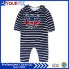 La longue chemise neuve barre Onesie infantile le bébé que bon marché vêtx (YBY116)