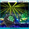 Osram 7 * 15W RGBW exterior feixe LED PAR Luz para Stage