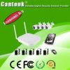 4 nécessaire économique de l'appareil-photo NVR d'IP de WiFi de la Manche 1MP (WIFIPY420RH100)