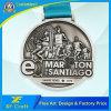 De professionele Aangepaste Medaille Van uitstekende kwaliteit van de Marathon van het Nikkel van het Metaal Antieke voor Herinnering (xf-MD24)