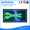 Rectángulo de Hidly la muestra del corte LED del pelo de Asia