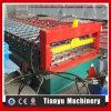 Roulis de panneau de toit de tuile de feuille de trapèze en métal formant la machine 1000