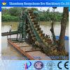 높은 복구 물통 사슬 금 광업 준설기, 모래 준설기