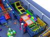 Qitele passte gebildetes Trampoline-Plättchen Innenspielplatz-Trampoline-Park an