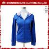 Suéter azul Hoodies (ELTHI-20) del Shrug de las mujeres por encargo del mejor precio
