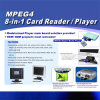 Mp4 Mp3 Media Player (joueur d'Advitising Digital)
