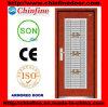 Stahl-Holz gepanzerte Tür mit Edelstahl-Fenster (CF-M044)