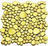 Ciottoli di ceramica del mosaico Gold-Plated