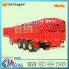 60tons nuttige lading die de Semi Aanhangwagen van het Vervoer van het Vee schermen