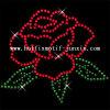 Motivo caldo del Rhinestone di difficoltà del fiore (FL788)