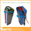 Grootte 18650 Lithium Ion Battery 51.8V 14s 11.6ah voor Ebike