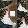 ウェディングドレス、婚礼衣裳、花嫁の服(GT011)