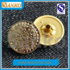 熱いSelling 17mm High Polished Metal Jeans Button