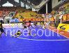 De Modulaire Bevloering Futsal van het polypropyleen