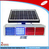 Ce RoHS ccc Certificated Double Colors Solar (rosso & blu) Traffic Light